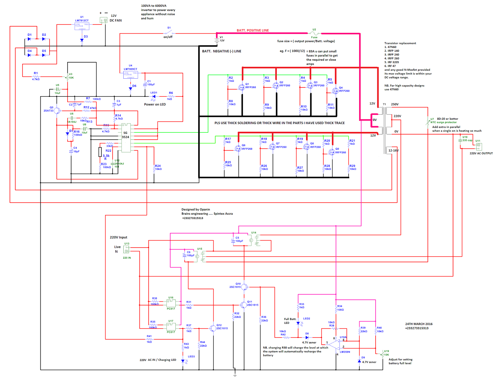 Inverter Circuit Diagram Together With Solar Panel Inverter Circuit