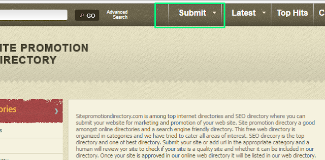 Directory Submission websites list