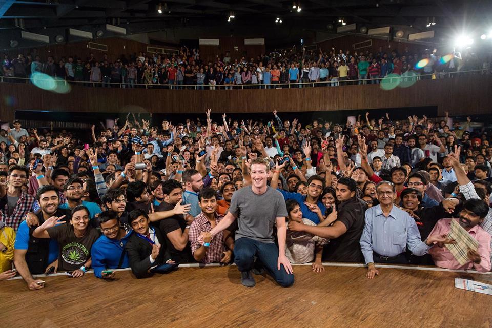 馬克佐克伯:Facebook下一個十億用戶要靠印度