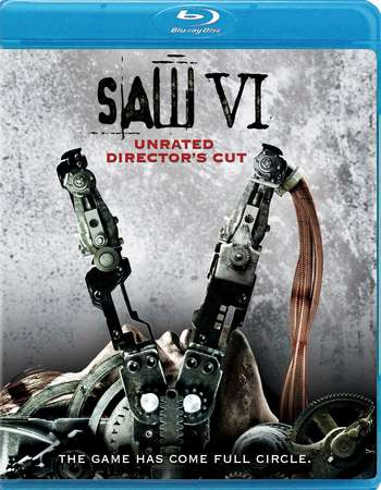Poster Of Saw VI 2009 English 300MB BRRip 480p Free Download Watch Online