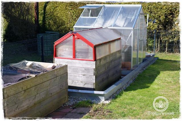 Gartenblog Topfgartenwelt DIY: Gemüsegarten mit Hochbeeten