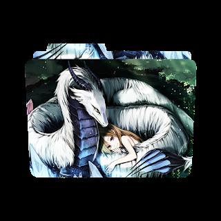 folder icon anime