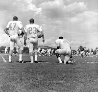 Houston Oilers at training camp in Kerrville ca 1970