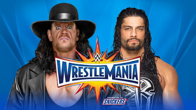 WWE WrestleMania 33 Roman Reigns Vs Undertaker Highlights Spoilers