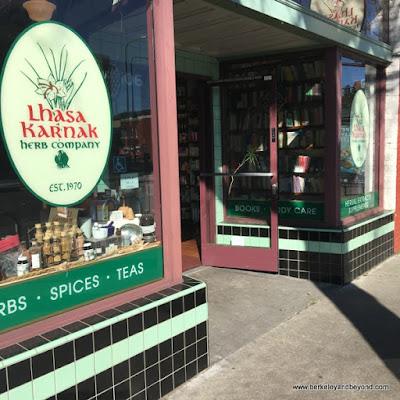 exterior of Lhasa Karnak Herb Company in Berkeley, California
