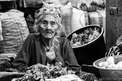 Vielle dame - Sukawati market - Ubud - Bali