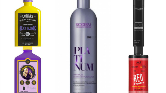 shampoos low poo cabelos coloridos