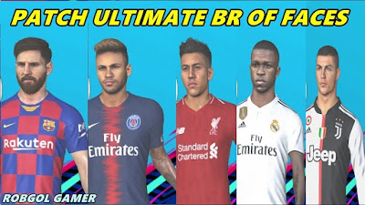 PES 2018 XBOX 360 BR OFF Ultimate Patch Update Season 2018/2019