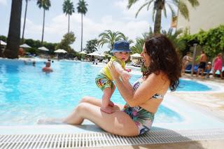 ¿Cuando podemos bañar a mi bebe en la piscina? Mi experiencia