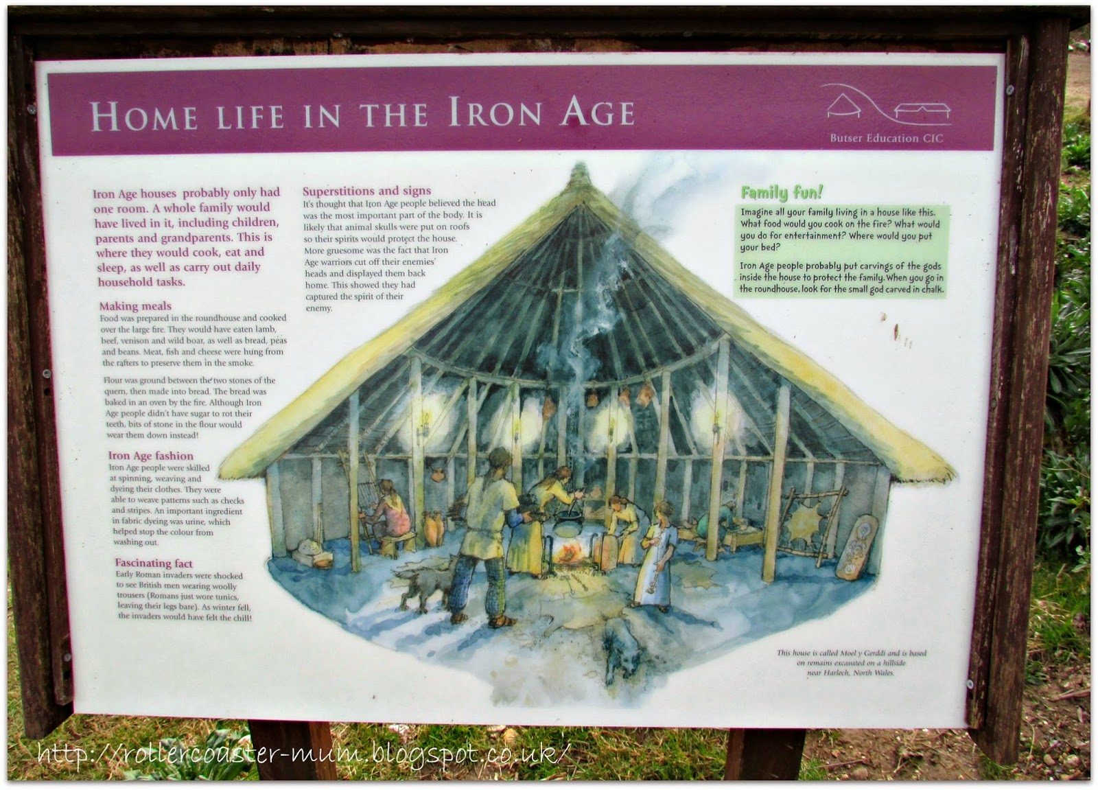 Life in an Iron Age Roundhouse - Butser Ancient Farm