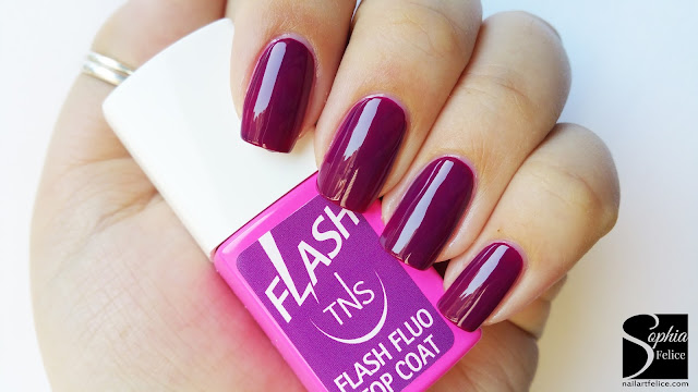 top coat fluo flash tns cosmetics