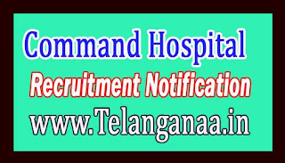 Command Hospital (Central Command) Lucknow Recruitment Notification 2017