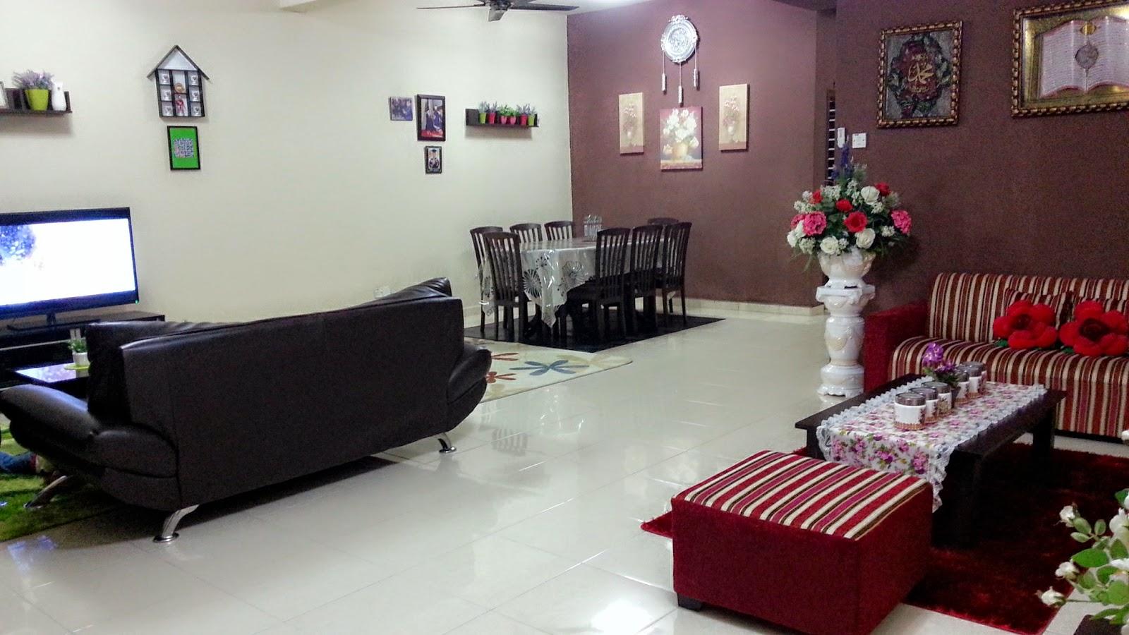 Susun Atur Ruang Tamu Dan Makan