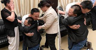 Πατέρας ξαναβρίσκει τον γιο του που είχε χάσει όταν ήταν τριών ετών μετά από 24 χρόνια