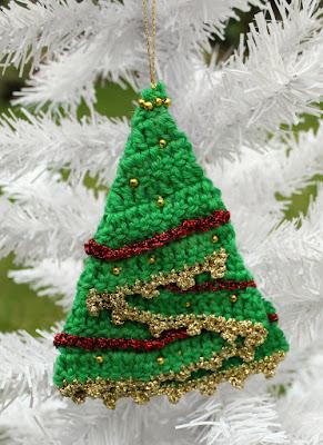 virkattu-joulukuusikoriste