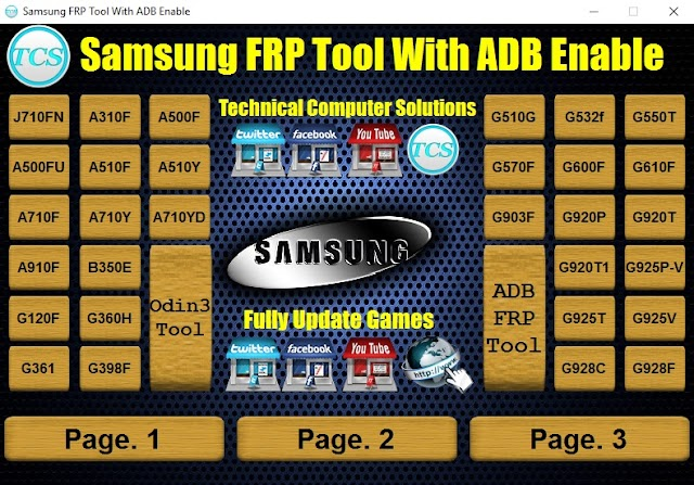Samsung Frp Tool With ADB Enable Files Free Download