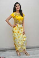 Richa Panai in Yellow Slim Fit Crop top ~ CelebxNext 024.JPG