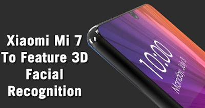 Xiaomi Mi7 Smartphone có Face ID như iPhone X