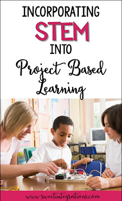 Incorporating STEM and STEAM into project based learning can be a breeze with the FREE download provided here. It's perfect for your upper elementary 2nd, 3rd, 4th, 5th, or 6th grade classroom or home school students. Click through to see how PBL can easily be integrated into your STEM or STEAM projects and activities. Plus make sure to grab the freebie that meshes the two components. (second, third, fourth, fifth, sixth graders, homeschool, homeschooling)