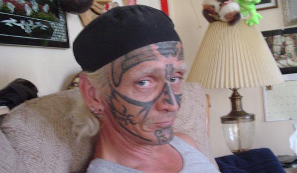 Monster Bego: Tatto Bego di Wajah (Asli Lucu Dan Kocak)