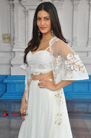 Telugu Actress Amyra Dastur Stills in White Skirt and Blouse at Anandi Indira Production LLP Production no 1 Opening  0102.JPG