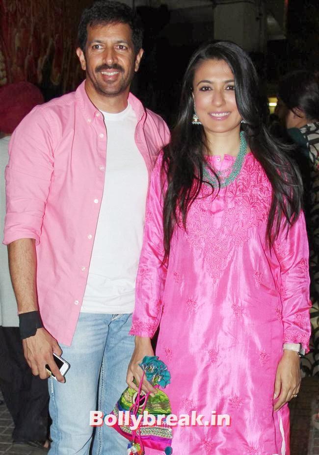 Kabir Khan and Mini Mathur, Gulaab Gang Movie Premiere Pics