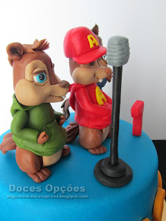 birthday cake Alvin and the Chipmunks