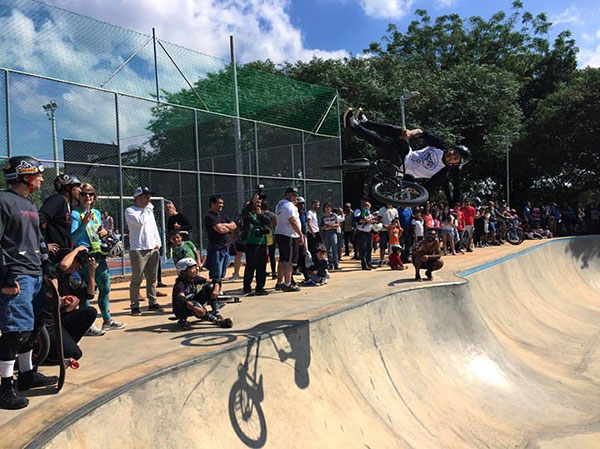 Pista de Skate e BMX do Parque Chácara do Jockey