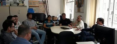 Diretor de Geologia e Recursos Minerais realiza reunião técnica em<br /> Curitiba