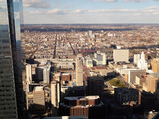 Philadelphia as seen from One Liberty Observation Deck