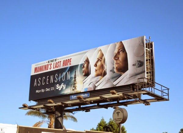 Ascension Syfy mini-series billboard