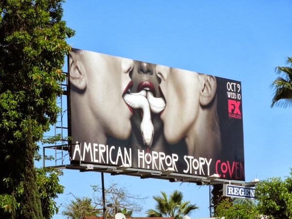 American Horror Story Coven season 3 billboard