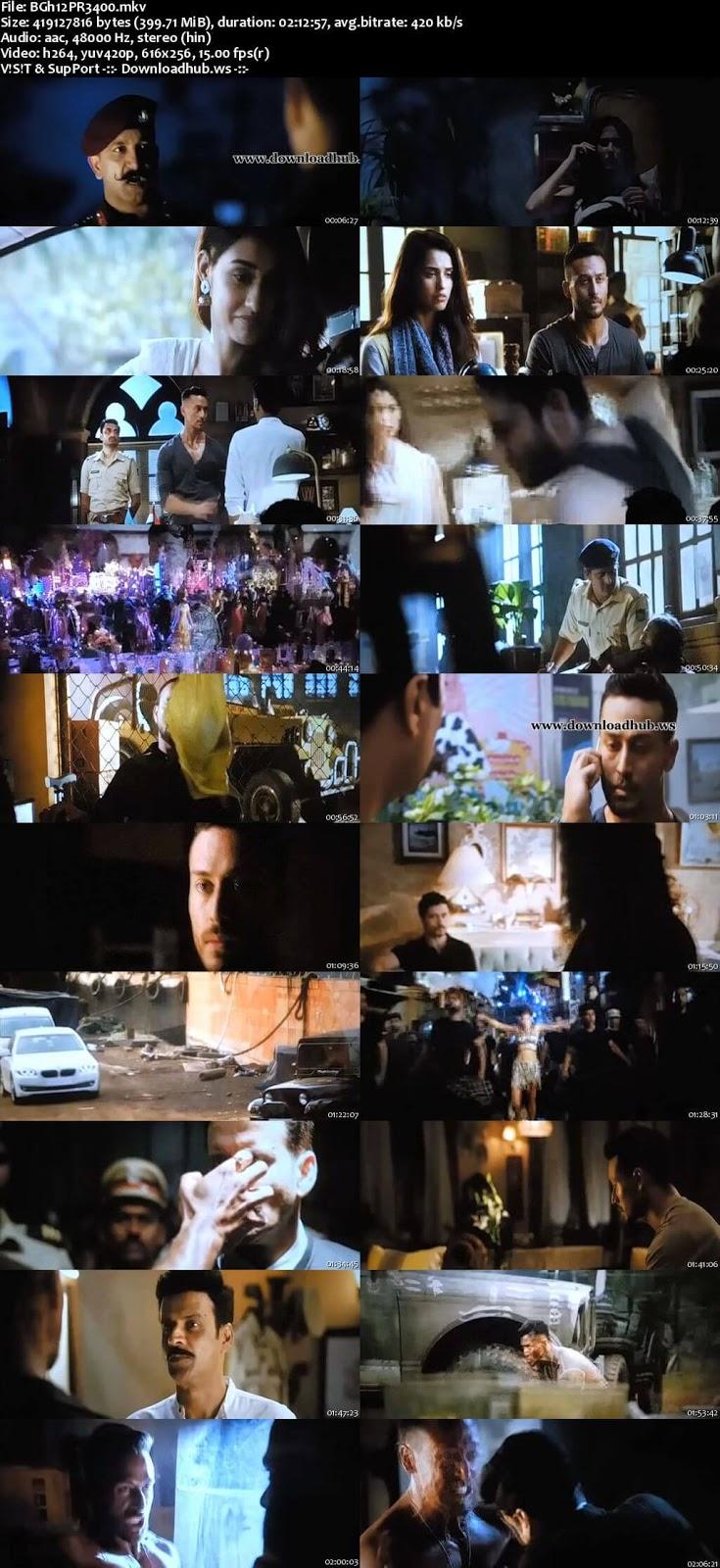 Baaghi 2 2018 Hindi 480p Pre-DVDRip x264