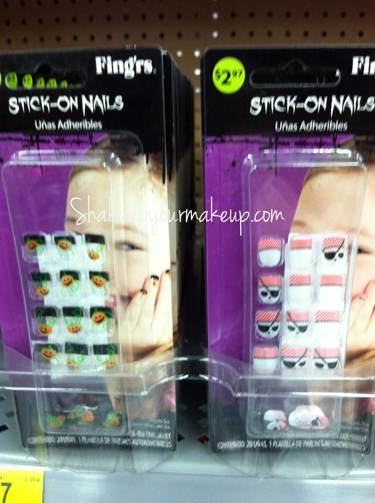Spotted at Walmart: Fing'rs Stick on Nails for Halloween ...