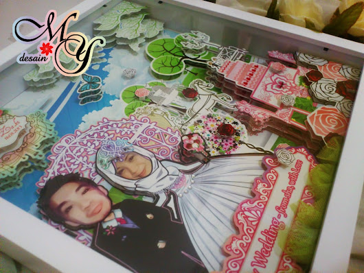 Tematik - Gift or Wedding Scrapframe 3D