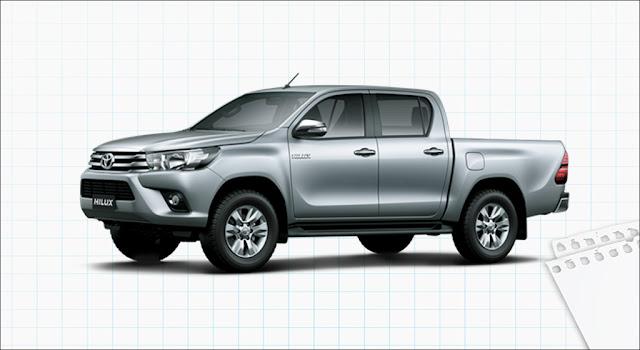 Toyota Hilux 2.4G 4x4 MT 2019