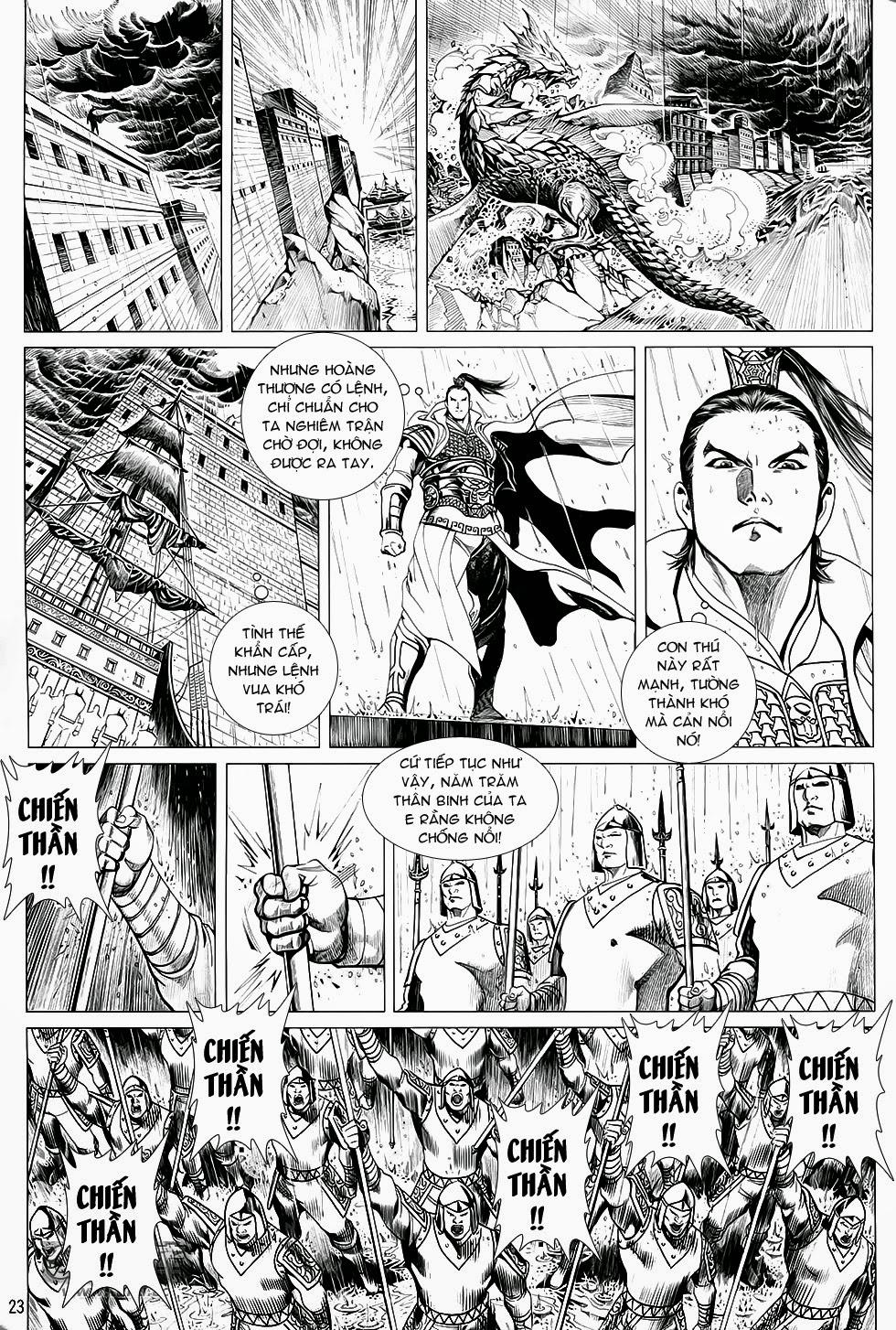 Chiến Phổ chapter 1: chiến thần lan lăng vương trang 24