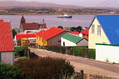 De viajeros por las Islas Malvinas o Falkland Islands 1