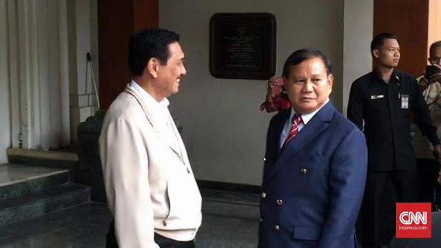 Pengamat: Dukungan Luhut Harus Diwaspadai Prabowo
