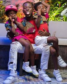e - Ghanaian celebrities team up with their kids/dads in stylish photos to celebrate Father's day (Photos)