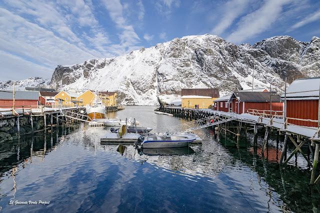 Iniverno en Noruega Artica - Nusfjord, Islas Lofoten por El Guisante Verde Project