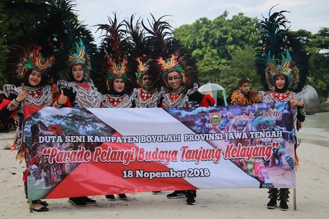 Parade Pelangi Budaya Tanjung Kelayang