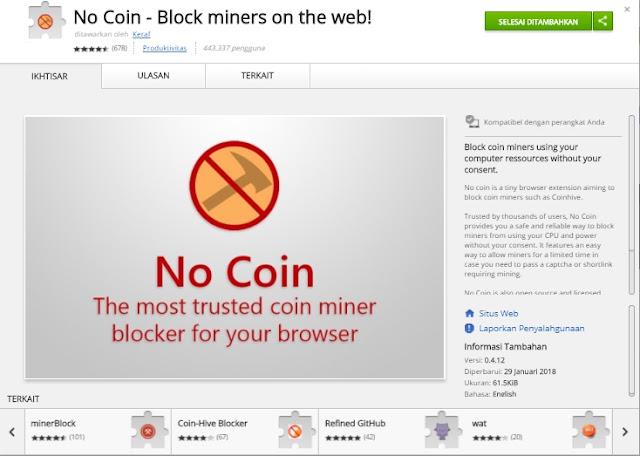 Kinerja Browser Melambat Bisa Jadi Karena Script Mining Ilegal