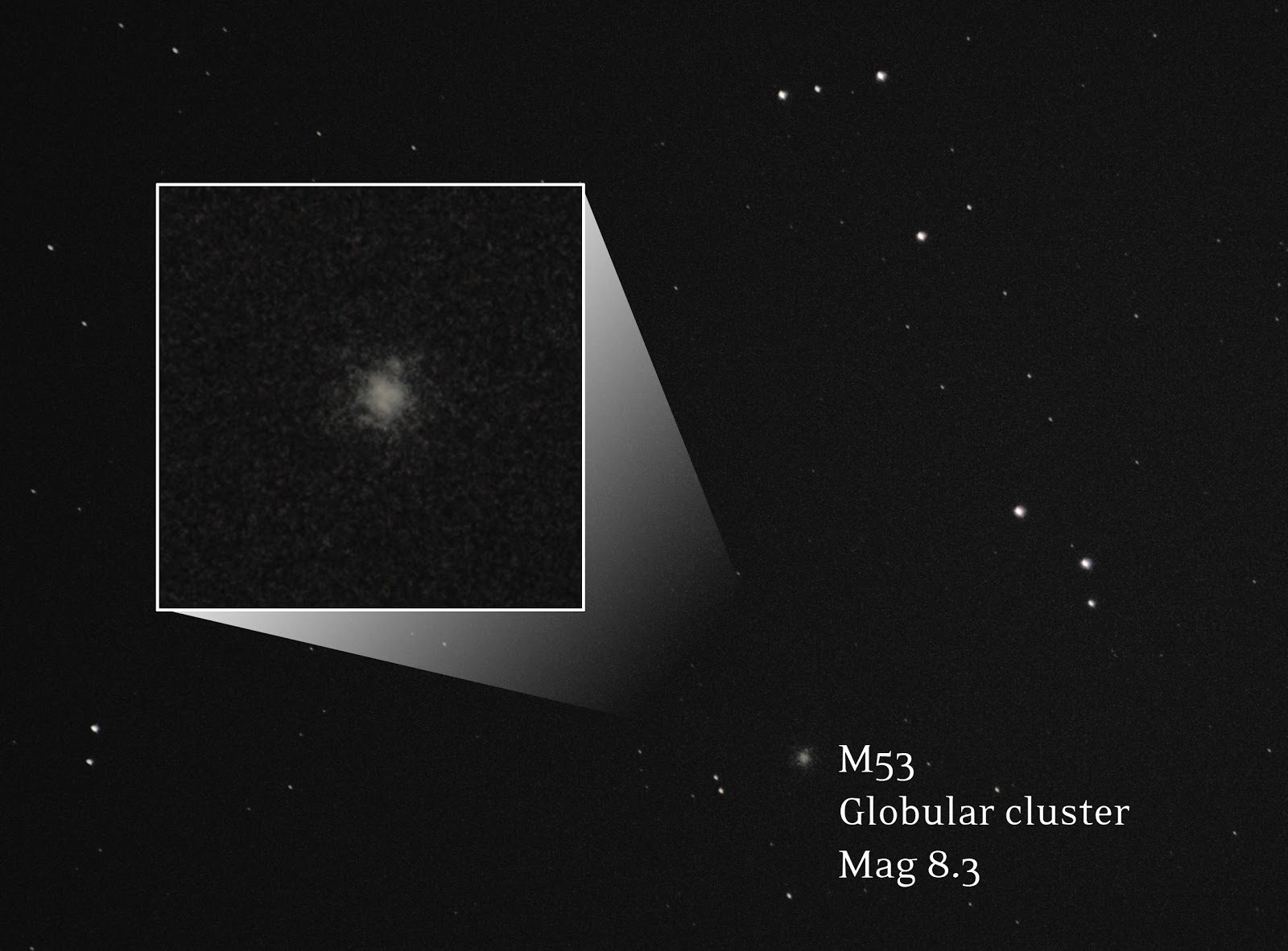 M53 messier object