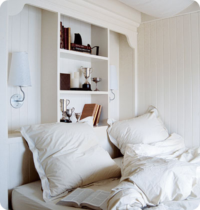 Boiserie c 55 trucchi per arredare mini camere da letto for Oggetti per arredare
