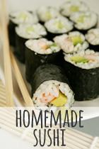 homemade sushi rezept