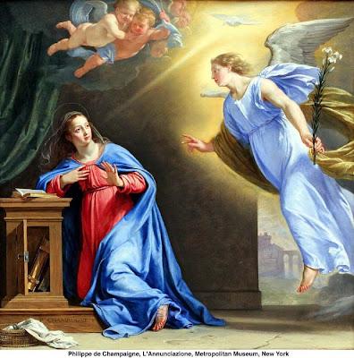 Resultado de imagem para imagens do anjo visitando maria