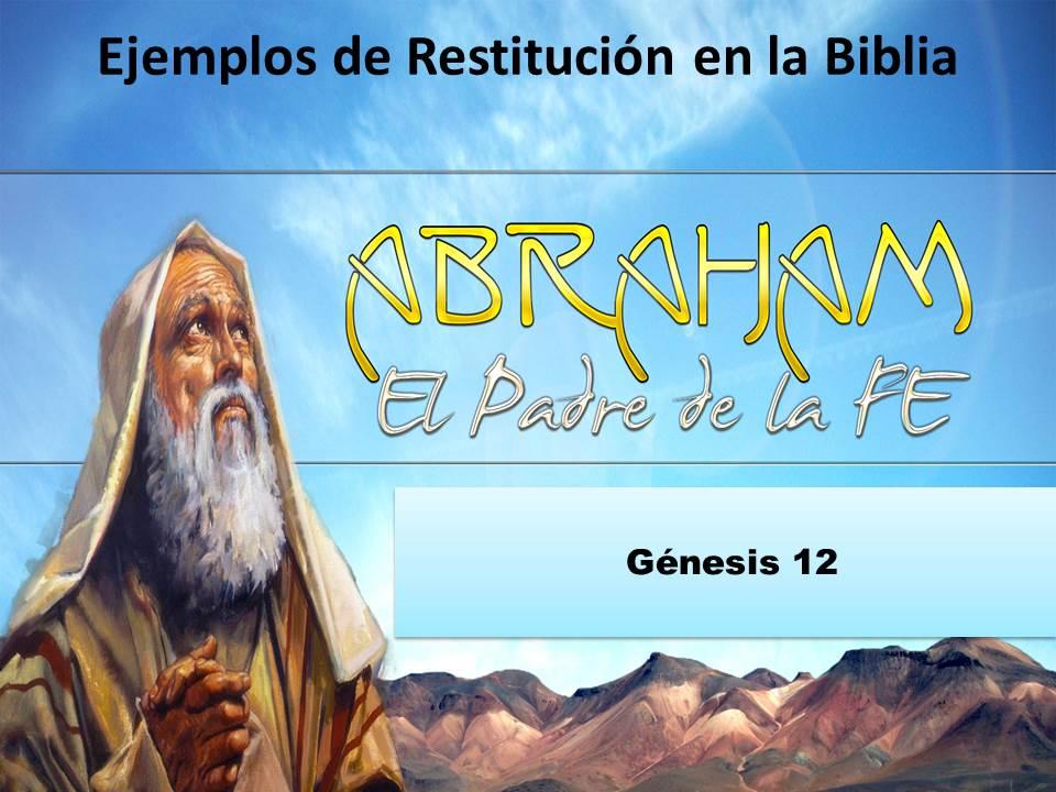RESTITUCIÓN | C C  Hay Paz con Dios