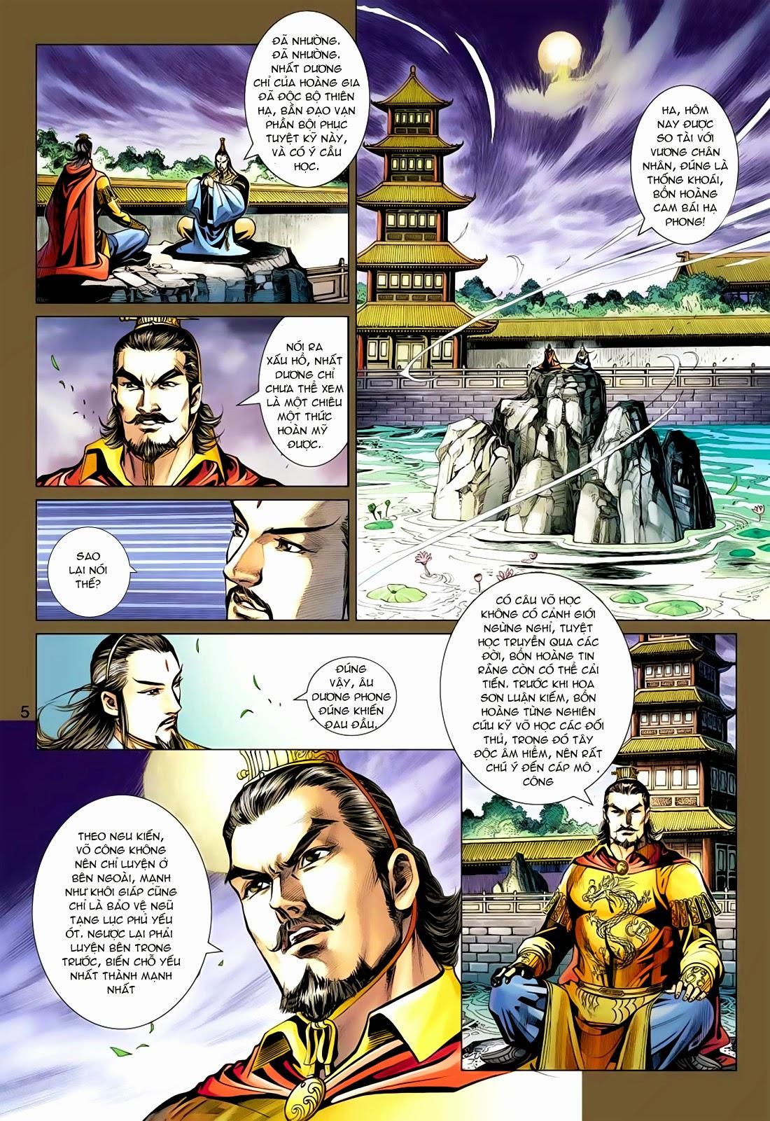 Anh Hùng Xạ Điêu anh hùng xạ đêu chap 77: thế thượng tối cường võ công trang 5