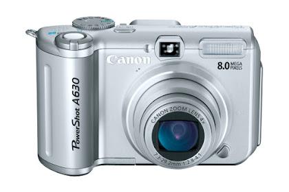 Canon PowerShot A630 Driver Download Windws, Mac